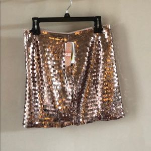 GB Sequence Mini Skirt